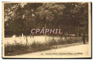 Ansichtskarte AK Tennis Vichy Nouveaux parcs