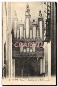 Ansichtskarte AK Orgue Le Mans Grandes orgues de la cathedrale