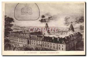 Ansichtskarte AK Le Creusot Ancienne Cristallerie 1787