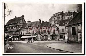 Moderne Karte Gaillon Eure Vieilles maisons normandes et l'ancien chateau