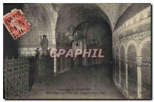 Ansichtskarte AK Chartres Cathedrale de Chartres Notre Dame sous Terre et la Chapelle Sainte Anne
