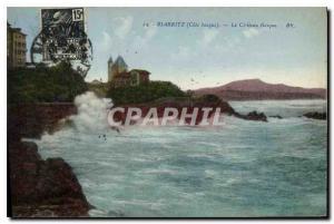 Ansichtskarte AK Biarritz (Cote basque) Le Chateau Basque