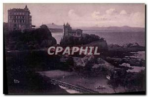 Ansichtskarte AK Biarritz Cote Basque Le Chateau Basque