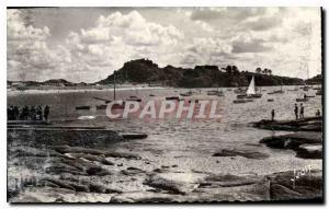 Moderne Karte Trebeurden Le Port et le Castel
