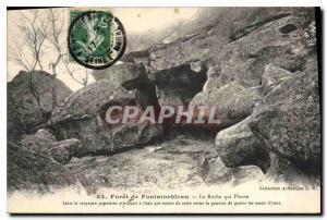 Ansichtskarte AK Foret de Fontainebleau la roche qui Pleure