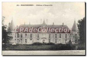 Ansichtskarte AK Malesherbes Chateau D'Augerville