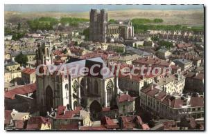 Ansichtskarte AK Toul Eglise St Gengoult Et Cathedrale
