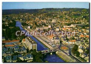 Moderne Karte Brive Le Pont Cardinal Et La Correze