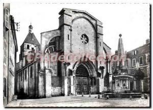 Moderne Karte Cluny S et L Eglise Notre Dame Style Roman et ogival du XII s