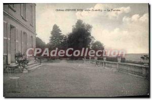 Ansichtskarte AK Epone Chateau d'Epone XVII siecle (S et O) La Terrasse