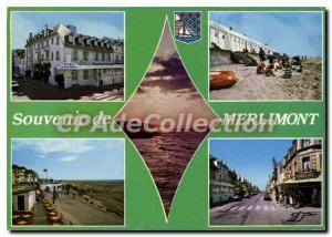 Moderne Karte Merlimont Pas de Calais
