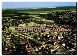 Moderne Karte Vue aerienne sue Mitry le Neuf (Seine et Marne) Pilote operateur R Henraru
