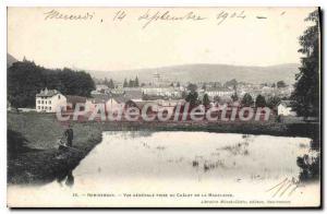 Ansichtskarte AK Remiremont Vue Generale Prise Du Chalet De La Madeleine