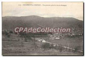 Ansichtskarte AK Rougemont le Chateau vue generale prise du cote de Romaguy