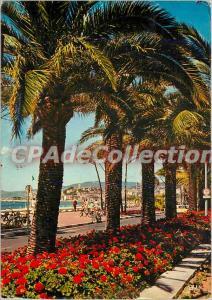 Moderne Karte Cannes (A M) La Croisette et le Suquet