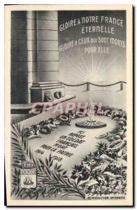 Ansichtskarte AK Gloire a Notre France eternelle