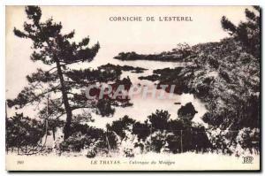 Ansichtskarte AK Corniche de L'Esterel Le Trayas Calanque du Maienas