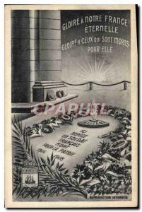 Ansichtskarte AK Gloire a Notre Dame France Eternelle