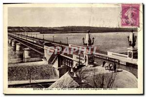 Ansichtskarte AK Briare Loiret le Pont Canal sur la Loire