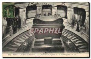 Ansichtskarte AK Paris l'hotel des Invalides le Tombeau de Napoleon Ier le Sarcophage