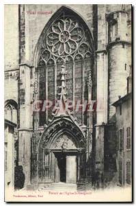 Ansichtskarte AK Toul Illustre Portail de l'eglise St Gengoult