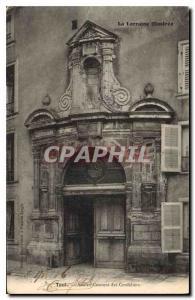 Ansichtskarte AK La Lorraine Illustree Toul Ancien Couvent des Cordeliers