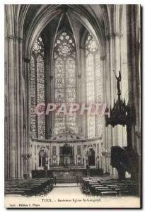 Ansichtskarte AK Toul Interieur Eglise St Gengoult