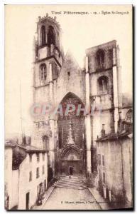 Ansichtskarte AK Toul Pittoresque Eglise St Gengoult