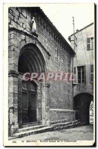 Ansichtskarte AK Grasse Portail lateral de la Cathedrale