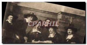 Ansichtskarte AK Rembrandt van Rijn les Syndics des Drapiers