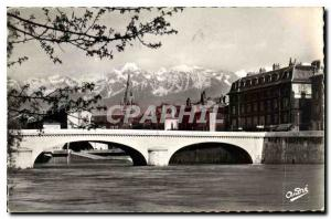 Ansichtskarte AK Grenoble Pont Marius Gontard et les Alpes