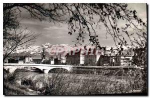 Ansichtskarte AK Grenoble Isere Pont Marius Gontard Eglise Saint Andre au Fond Massif de Belledonne