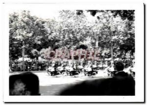 Photo Defile Paris Champs Elysees Militaria Moto