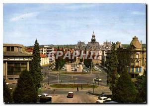 Moderne Karte Vichy Place de l'Hotel de Ville