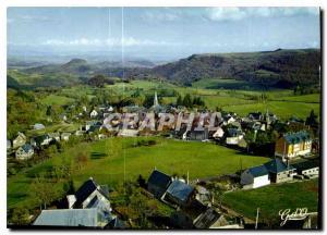 Moderne Karte L'Auvergne Besse en Chandesse puy de Dome Station touristique et climatique Sports d'hiver vue p