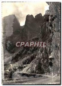 Moderne Karte Cal d'Aubisque Basse Pyrenees Route Thermale d'Argeles a Eaux Bonnes