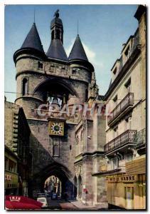 Moderne Karte Bordeaux Gironde La Porte de la Grosse Cloche ou Porte Saint Eloi