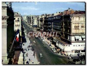 Moderne Karte Reflets de Provence Marseille B du R la Canebiere