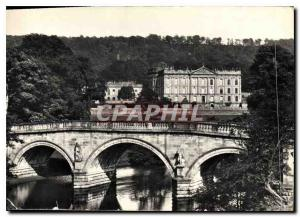 Moderne Karte Chatsworth The House and Bridge