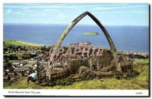Moderne Karte North Berwick from the Law