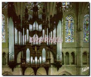 Moderne Karte Les Merveilles de Chartres Eure et Loir la Cathedrale XII siecle les grandes orgues renovees en
