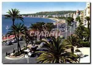 Moderne Karte La Cote d'Azur Cannes La Promenade des Anglais