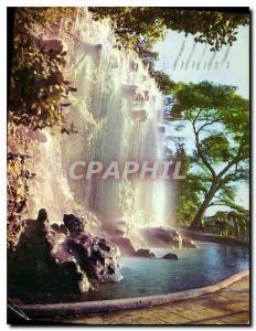 Moderne Karte Nice Capitale Mondiale du Tourisme La Cascade du Chateau