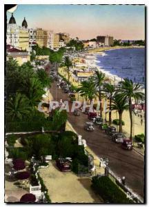 Moderne Karte La Cote d'Azur Cannes La Promenade de la Croisette