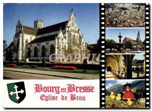 Moderne Karte Bourg en Bresse Eglise de Brou Eglise de Brou debut XVI S vue aerienne Cl Heurtier Rennes Eglise