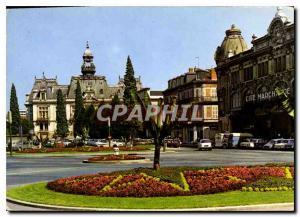 Moderne Karte Vichy Hotel de ville et Place de la Poste
