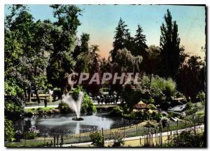Moderne Karte Vichy Dans les Grande Parcs le Bassin des Cygnes