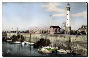 Ansichtskarte AK Riva Bella Le Port et le Phare Bateaux de peche
