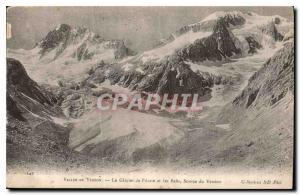 Ansichtskarte AK Vallee du Veneon le Glacier de Pilatte et les Bans Source du Veneon