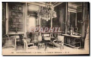 Ansichtskarte AK Fontainebleau Le Palais Le Salon de l'Abdication